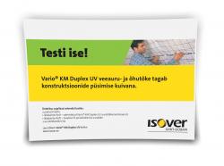 Telli ISOVER Vario testümbrik